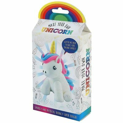 Make Your Own Unicorn Dough Craft Kit Kids Toy Gift Mould Glitter Moulding