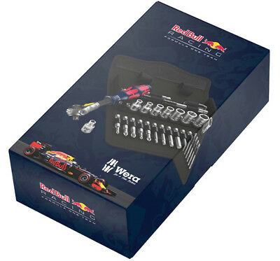 Wera Red Bull Racing 8100 SA 6 Zyklop Speed 1/4in Ratchet Sockets 227701 *SALE*