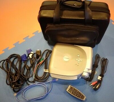 Dell Projector, Hard Carry Case, Remote and cables