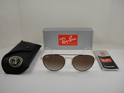 f6cda3bcad Ray-Ban Sunglasses Rb3589 905513 Brown Gold Frame brown Gradient Lens 55Mm