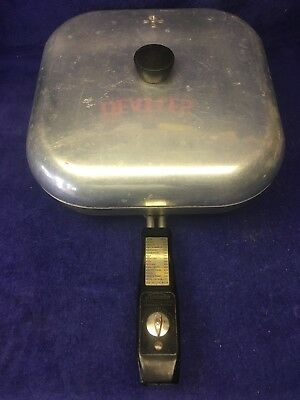Vintage Sunbeam Controlled Heat Automatic Frying Pan Electric Skillet  Free S&H