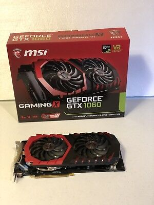 MSI NVIDIA GeForce GTX 1060 GAMING X 3G TWIN FROZR