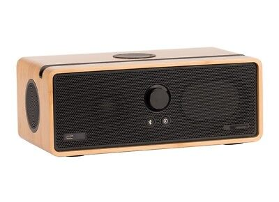 Orbitsound DOCK E30 - Smart Wireless Bluetooth/Wi-Fi Speaker System Bamboo