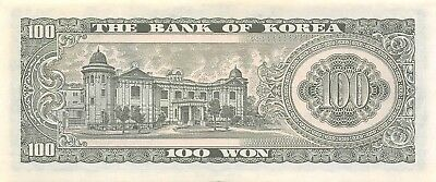 Korea 100 Won ND. 1965 P 38a Uncirculated Banknote K 1