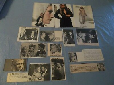 Peggy Lipton  lot of clippings  #BBX
