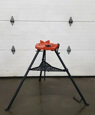 Ridgid 460 Chain Vise Tripod Stand Use W/your Pipe Threading Threader 300 700 👍