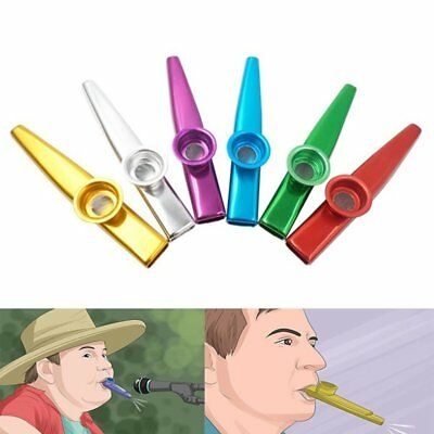 Mini Kazoo Musical Instrument for Guitar Ukulele Great Gift for Music Lovers SU