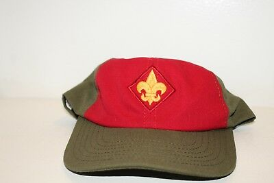 Boy Scouts Of America Hat Red And Green