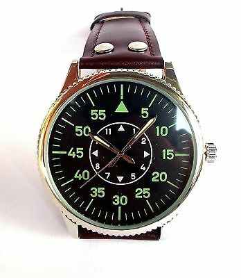 REDUCED Luftwaffe Aviator 1940s World War II Watch. New Boxed was £19.99