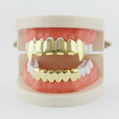 Electroplate Copper 6 Plating Shiny Grillz Teeth Hip Hop Teeth Teeth Grill SU