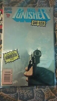 Punisher 100 Rage,VERY Rare Varient Newstand Ed., Awesome Cover!!! NM
