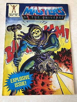 Masters Of The Universe Comic Issue No.64 Vintage 1988