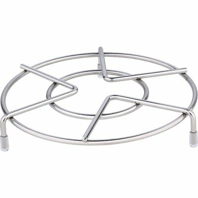 Pot Cooling Stainless Steel Tray Steaming Rack Kitchen Supplies Stand Round UK