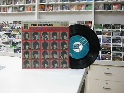 """The Beatles 7"""" Ep Spanish A Hard Day's Night + 3. 1970"""