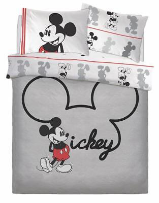 Mickey Jersey Disney Character Luxury Duvet Cover Sets Reversible Bedding Sets