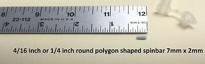 1/4 in. round polygon magnetic spinbar