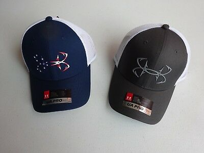 Under Armour Men's Fish Hook Fitted Hat Cap NWT!!!
