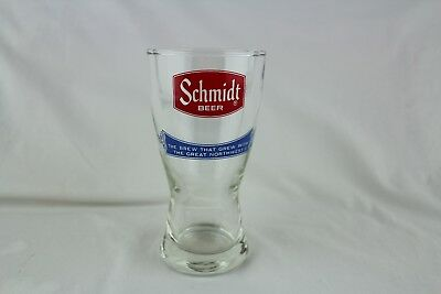 Schmidt Beer The Beer That Grew With The Great Northwest Beer Glass