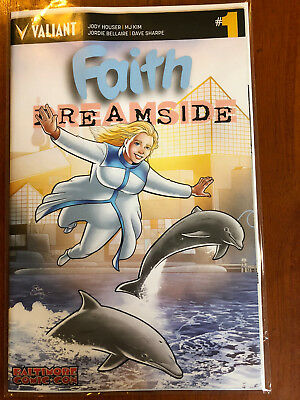 Faith Dreamside 1 Valiant 10/2018 Baltimore Comic Con Variant A4