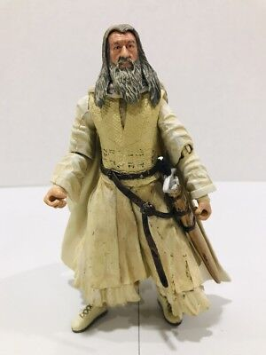 The Lord of the Rings The Two Towers Gandalf The White Action Figure 2002 Marvel