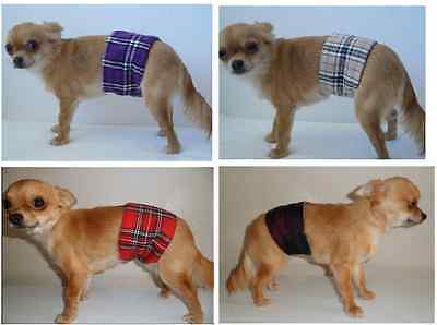 Male Dog Belly Bands from XXS - XXL, dipers nappies