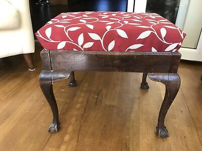 Antique Mahogany Piano Stool