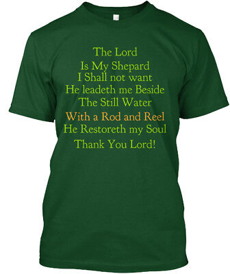 Beside The Still Water - Lord Is My Shepard I Shall Hanes Tagless Tee T-Shirt
