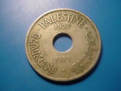 Palestine 1927 10-Mils In Very Nice Condition