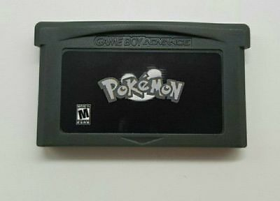 Pokemon Creepy Black for Game Boy Advance Nintendo GBA (Rom Hack of Fire Red)