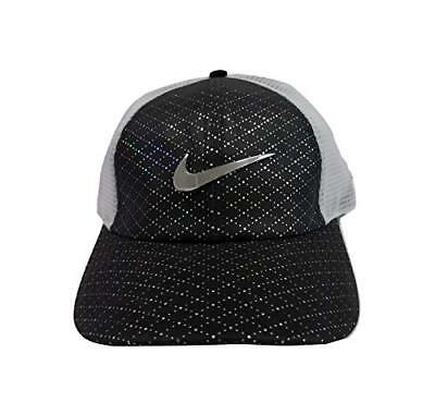 4d2af6d3 Nike Women's Aerobill Legacy 91 Perforated Mesh Golf Hat White/black  Aq2986-010