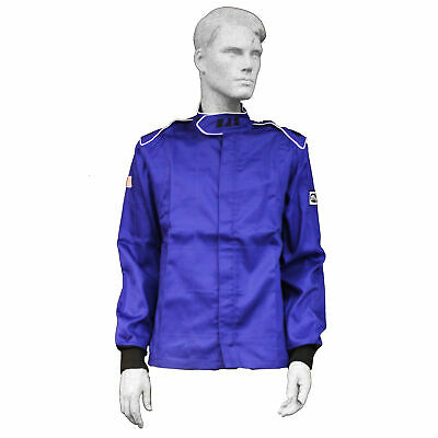 Fire Suit Sfi 3.2A/1 Jacket Blue 3X Rjs Racing Elite Nascar Oval Racing