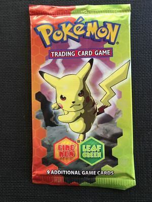 Pokemon Booster Packs - Eng Ex Fire Red Leaf Green - Sealed and Unweighed