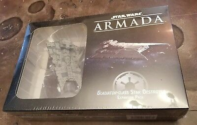 Star Wars Armada Gladiator-Class Star Destroyer Expansion Pack SEALED NEW Empire