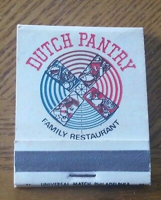 Dutch Pantry Restaurant*kettle & Keg Match Book*matches*collectable*ships Free