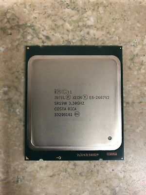 SR19W Intel Xeon E5-2667 V2 3.30 GHz Eight Core Processor