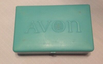 Avon Vintage Sample Lipstick Case Box Complete With 40 Mini Bullet Samples 1954