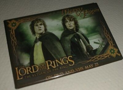 Lord of the Rings - The Return of the King Movie Release Pins: Merry & Pippin