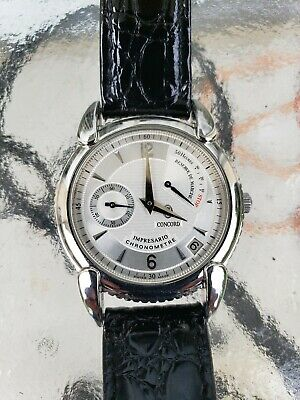 Concord Impresario Power Reserve Retrograde Chronometer Mans Watch