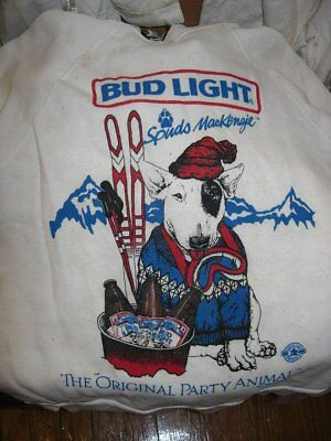 Spuds MacKenzie Vintage Sweatshirt small Budweiser Beer Bud Light