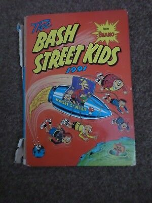 The Bash Street Kids Annual 1991 Book Unclipped DC Thomson