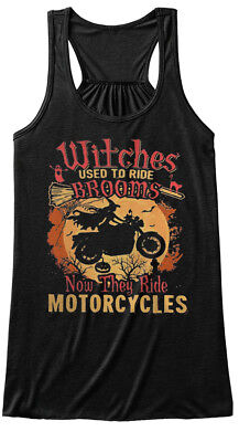 One-of-a-kind Witches Used To Ride Brooms Bella Flowy Bella Flowy Tank Tanktop