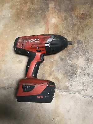 """HILTI SIW 18T-A  1/2"""" CPC HIGH-TORQUE IMPACT WRENCH - 1 Battery"""