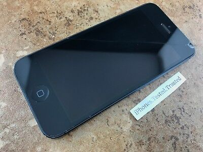*Clean ESN + No* Power Apple iPhone 5 ATT TMobile Unlocked Sprint 16GB/32GB/64GB