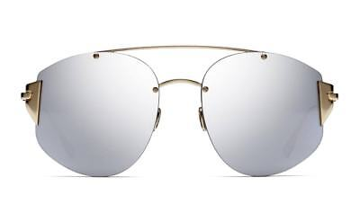 9d7562d261c3a New Christian Dior Stronger OOODC Gold w  Grey Mirror Lens Sunglasses  Authentic