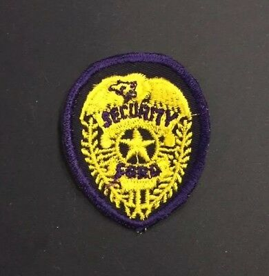 Ohio Police Patch (Ford Security)