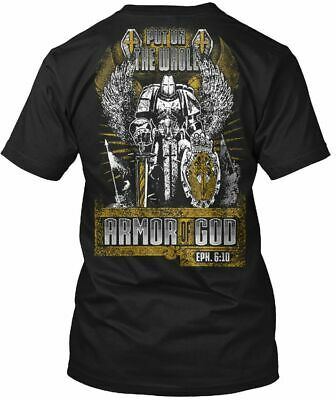 Easy-care Put On The Whole Armor Of God Hanes Tagless Hanes Tagless Tee T-Shirt
