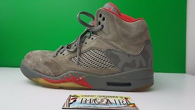 huge selection of 8f499 b6750 Nike Air Jordan 5 Retro P51 Camo Camouflage Dark Stucco Men s Size 10 136027 -051