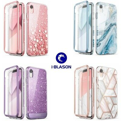 "For Apple iPhone XR Case 6.1"", i-Blason Cosmo Full-Body Glitter Bumper Cover New"