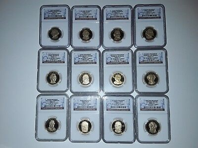 2007-2016 S Complete 39 Coin Presidential Dollar Coin Set NGC PF70