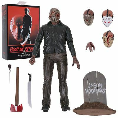 "Friday the 13th: 7"" Scale Action Figure Ultimate Part 5/3 Jason Voorhees"